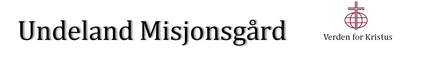 Undeland Misjonsgård Logo